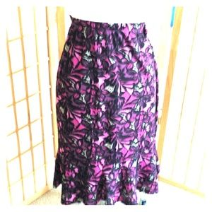 Sag Harbor Woman beautiful skirt Sz 2x